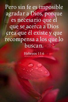 Hebreos 11:6 Cross Stitch Boarders, Christian Verses, Salvador, Bible Verses, Prayers, Religion, Messages, God, My Love