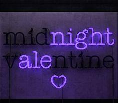 Midnight Valentine by John Harwood, via Behance