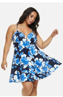 Emma Floral Fit and Flare Day Dress