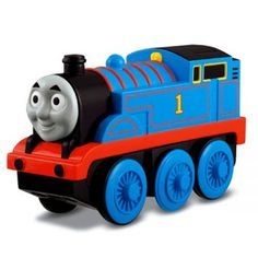 Thomas & Friends™ Battery-Operated Thomas the Tank Engine: Have Thomas drive your magnetic train set!