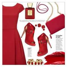 """""""Red Motion"""" by janee-oss ❤ liked on Polyvore featuring Phase Eight, TravelSmith, Urban Decay, Bella Bellissima, MICHAEL Michael Kors, Bling Jewelry and Judith Ripka"""