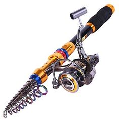 Telescopic Saltwater Freshwater Fishing Rod and Reel Combos (3.6m/11.5ft+DK4000)