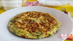 Frittata light al philadelphia e prezzemolo (209 calorie) | Le Ricette Super Light Di Giovi