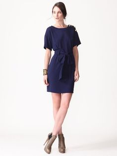 jersey t-shirt dress (3.1 Phillip Lim ...can't afford it even on Gilt.)