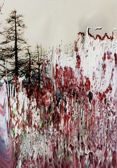 Gerhard Richter ~ Untitled, oil on paper. love the running, free flowing appearance, with mainly warm colours. love the abstract appearance Mixed Media Photography, Artistic Photography, Art Photography, Cy Twombly, Joan Mitchell, Landscape Art, Landscape Paintings, Painting Inspiration, Art Inspo