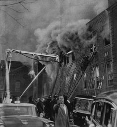 Our Lady of Angels fire at a Catholic parochial School in Chicago. This fire, on Dec. 1st, 1958 claimed the lives of 92 children and 3 nuns. The fire, as it turns out, had been deliberately set by one of the school children.