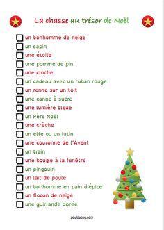 La chasse au trésor de Noël Chasse Au Trésor De Noël, Lutin De Noel, 916257b3004
