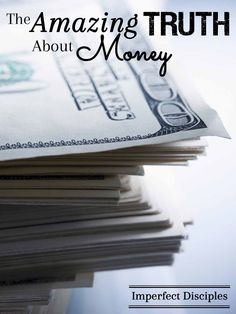 The perspective that too few people have regarding money and possessions. Did you look at