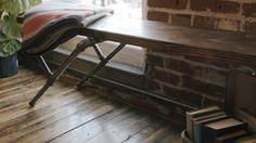 DIY Industrial Pipe Bench