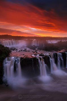 Iguazu by Piriya (Pete) ~ Iguazu Falls, Brazil ~ Iguazu**