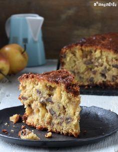 Apple and nut cake {gluten free, dairy free, without .- Apple and nut cake {gluten free, dairy free, egg free} – L´Exquisit - Sugar Free Desserts, Gluten Free Desserts, Vegan Gluten Free, Dairy Free, Healthy Cake, Healthy Desserts, Apple Recipes, Sweet Recipes, Cheesecake Recipes