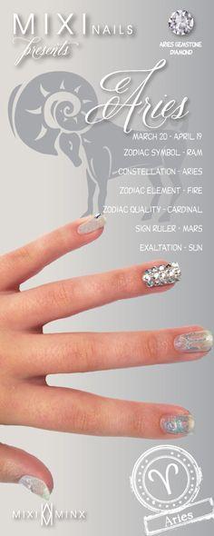 Zodiac Nails: Aries by Mixi Minx
