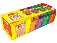 MAGGI Masalas Of India Noodle Box,12 Packets Of 73g Each