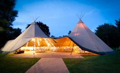 Wedding Trends | Tipis, Makeout Tents and Tent Decor