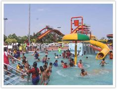 Jalavihar is a waterpark located in Hyderabad, Telengana within an area of about 12.5 acres. Located beside Sanjeevaiah Park and along the Hussain Sagar lake, the park was inaugurated on 20 May 2007.