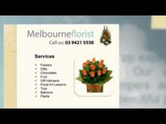 Flower Delivery Service, Order Flowers, Hampers, Flower Arrangements, Melbourne, Bouquets, Presentation, Creativity, Watch