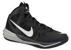 Nike Mens Prime Hype DF Basketball Shoes-9,BLACK/GREY | 5% OFF