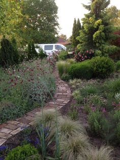 Sidewalk, Garden, Garten, Gardening, Walkways, Outdoor, Pavement, Gardens, Curb Appeal