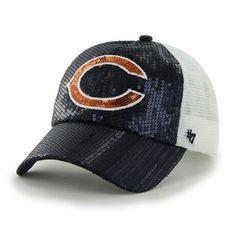 Chicago Bears Dazzle Mesh Clean Up Cap