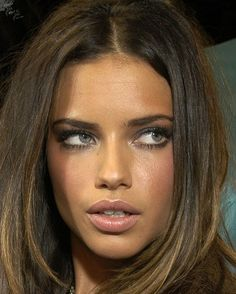 Image result for adriana lima eye makeup