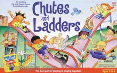 In other words, it's theoretically possible for a game of Chutes and Ladders to last forever. Description from math.byu.edu. I searched for this on bing.com/images