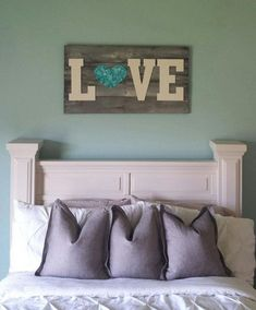 rustic barn wood pallet sign. by ModernRefinement on Etsy, $125.00 by Liz Cc'