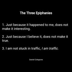 The Three Epiphanies of Recovery... It may take years but once you change your perspective enough to truly see these three simple truths you just might make it. #12steps #recovery #psychology #addiction #AA #alcoholic #alcoholism