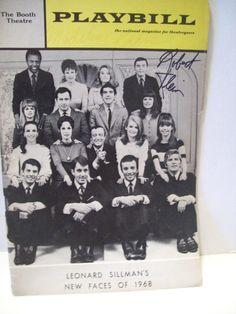 klein-robert-madeline-kahn-playbill-signed-autograph-new-faces-of-1968-17