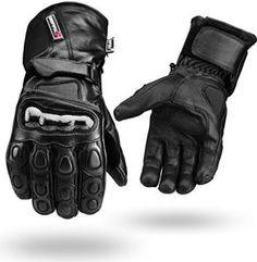 Noir Hiver Imperméable Gants… http://123promos.fr/boutique/auto-et-moto/noir-hiver-impermeable-gants-cuir-4-moto-articulation-guarde-noir-m/