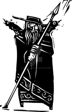 Norse God Odin by xochicalco on DeviantArt