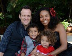 Gorgeous interracial family #love #wmbw #bwwm