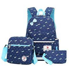 6f6393d4e807 Children School Bags For Teenagers girls backpack set women shoulder travel  bags 3 Pcs Set rucksack mochila backpacks