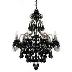Trend-setting interior designers are featuring black crystal chandeliers in so many ways. See all the hottest styles here!