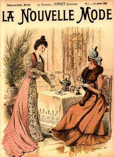 PEÇA GRÁFICA 8  .História da Moda.: Século XIX - Parte 3: Moda na Belle Époque e Era Eduardiana
