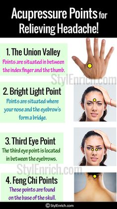 Watch This Video Classy Natural Headache Remedy for Instant Headache Relief Ideas. Incredible Natural Headache Remedy for Instant Headache Relief Ideas. Acupressure Points For Headache, Acupressure Treatment, Acupressure Therapy, Acupressure Massage, Foot Reflexology, Acupuncture Points, Pressure Points For Headaches, Exercise Workouts, Exercises