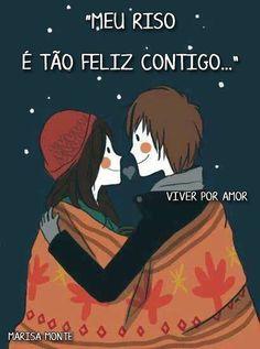 Você é assim, um sonho pra mim quero te encher de beijos...