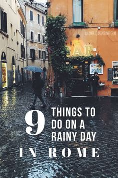 9 Things to do in Rome on Rainy Day - An American in Rome