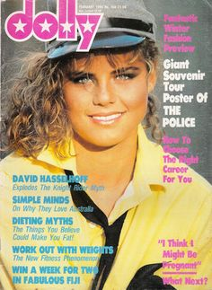Dolly Magazine February 1984, creeping into the 80s now, teen time....I learnt everything from Dolly!  Had this issue.