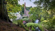 Quarry Bank Mill, Styal, Cheshire, is one of the best preserved textile mills of the industrial revolution and is now a museum.