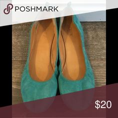J.Crew Suede Flats Super cute! Great condition! J.Crew Factory Shoes Flats & Loafers