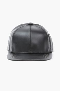 Necessary Clothing Leather Snapback ff6e2a7d897d