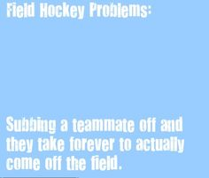 field hockey problems - Google Search