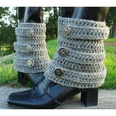 Brunswick Bootwarmers Crochet PATTERN in PDF by BellaMcBride - Photo