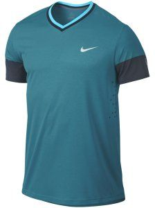 Roger's shirt of choice for the Monte Carlo Rolex Masters: Nike Men's Summer Premier RF Crew