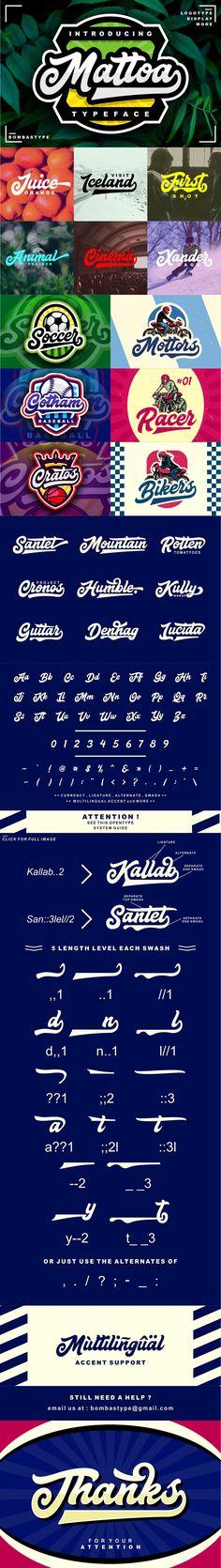 Mattoa - Intro Sale Font