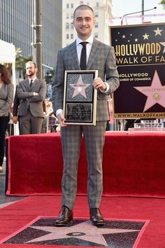 Daniel Radcliffe receives his Hollywood Walk of Fame star