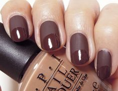 Chocolate Nail Design for French Manicure Chocolate Dorado, Types Of Chocolate, Pink Chocolate, Love Nails, My Nails, Matted Nails, Nail Designs 2015, Nails 2015, Pretty Designs
