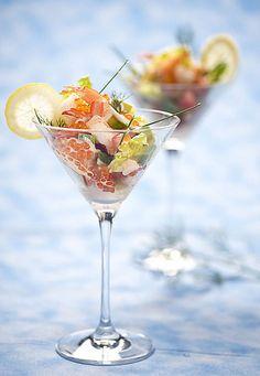 Prawn cocktail...