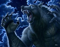 """<a href=""""http://kyoht.com/"""" target=""""_blank"""">Art by Kyoht </a> <br><br> Werewolves have incredible healing abilities, theorized to be an additional benefit of their shifting talents. They are not immortal, but seem immune to sickness and have been found to survive any injury that does not deliver a quick death. It is believed that their healing speed and ease is enabled by their high energy intake, just as their shifting is. Lone werewolves, living a rougher life than those within a pack, are…"""