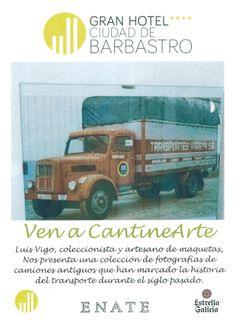 Cartel exposición de Luis Vigo, coleccionista y artesano de maquetas